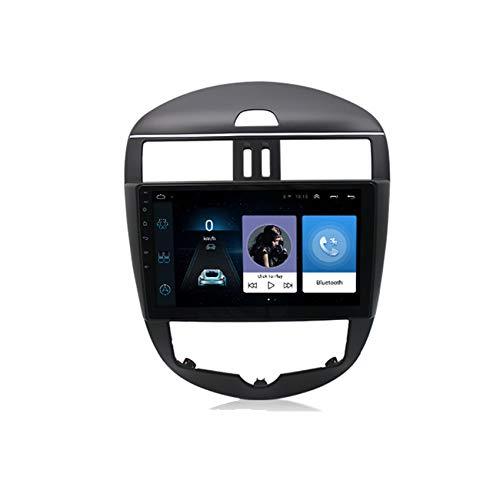 Radio Coche Android 10 HD Pantalla táctil capacitiva para Nissan Tiida 2011-2014 Navegación GPS incorporada Autoradio Soporte Bluetooth FM Am Manos Libres Bluetooth DSP,WiFi,2+32G