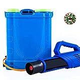 WZF Mochila eléctrica de Litio de 16 A con batería para Interior y Exterior, público, Cuadrados, desinfección, Mochila para Matar Mosquitos (20L)