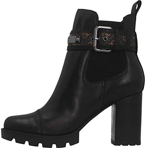 Guess Damen Stiefelette Größe 35 EU Schwarz (schwarz)