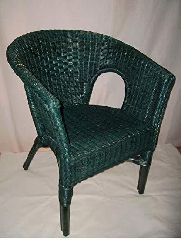 Rotan stoel rotan stoel korfstoel Club Lounge Cocktail stoel Petrol