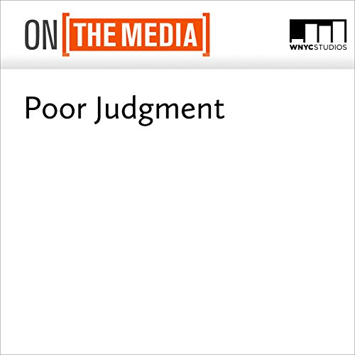 Poor Judgment audiobook cover art