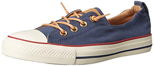 Converse Chuck Taylor All Star Shoreline Navy Red Lace-Up Sneaker - 8 B(M) US