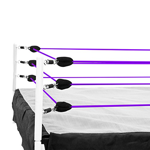 Figures Toy Company Purple Ring Ropes for Wrestling Action Figure Ring