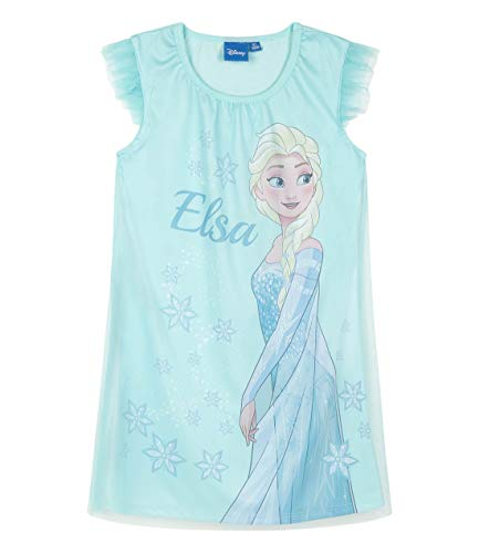Disney Die Eiskönigin Mädchen Nachthemd Hellblau 116
