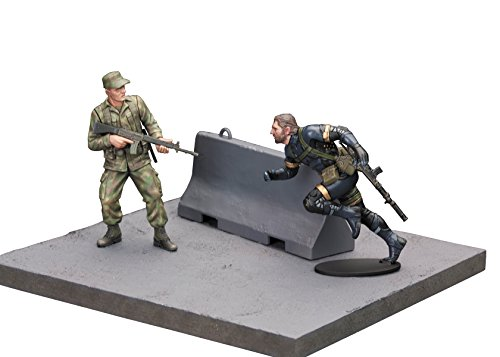 Toy Zany Metal Gear Solid V Ground Zeroes Tactical Espionage Operations Model Kit