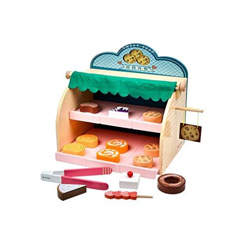 kids toys LHY Juego de Juguete de Cocina, Utensilios de Cocina de Juguete Accesorios de Cocina Divertido Postre Soporte para Torta Niño Juguete de Moda