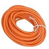 FOLOSAFENAR Tubo de látex de 10 m, no tóxico y Seguro, fácil de Usar, Accesorio de catapulta, Utilizado para tirachinas de Bricolaje(Orange)