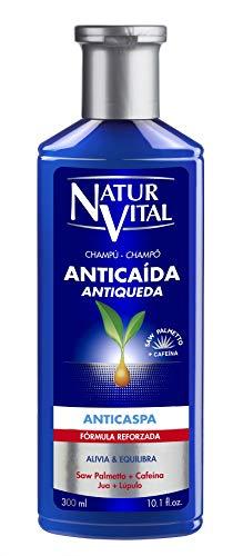NaturVital Champú Anticaída Anticaspa 300 ml