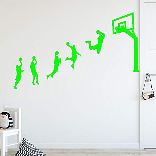 Zaosan Neue Basketball Spiel wandaufkleber persönlichkeit kreative kinderzimmer DIY Dekoration Kunst Dekoration tapete