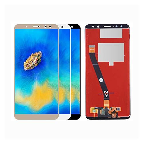 lilili Cabello De Reemplazo De Marco del Fit For Huawei Mate 10 Lite Pantalla Táctil Montaje Digitalizador Nova 2i Rne-L2 Reemplazo de Pantalla LCD (Color : White No Frame)