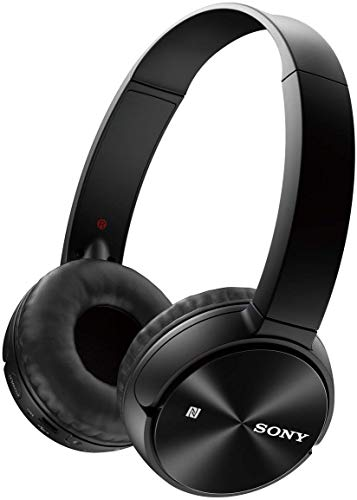 Sony MDR-ZX330BT Cuffie Wireless On-Ear, Batteria fino a 30 Ore, Bluetooth, NFC, Nero