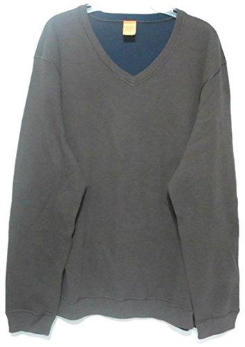 V-Neck Vintage Pullover - 4