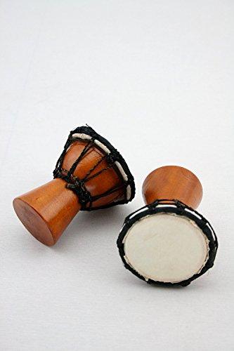 Four Elements Shaker Djembe - 8cm - Mit Fell