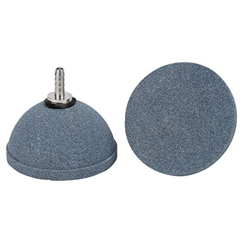 Pawfly 2.4 Inch Air Stone Bubble Mineral Ball Shaped Airstones Diffuser for Aquarium Fish Tank Hydroponics Pump