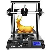 GEEETECH A20 Imprimante 3D avec zone d'impression 255x255x255mm, détecteur de filament et fonction de reprise en pause, montage rapide Prusa I3 DIY-Kit