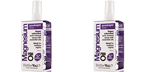 (2 Pack) - BetterYou - Magnesium Oil Goodnight Spray | 100ml | 2 PACK BUNDLE