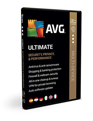 AVG Ultimate | Multi-appareils | 10 appareils | 1 an | Licence | Box