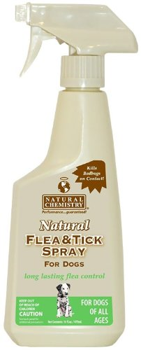 Natural Chemistry Flea & Tick Spray for Dogs