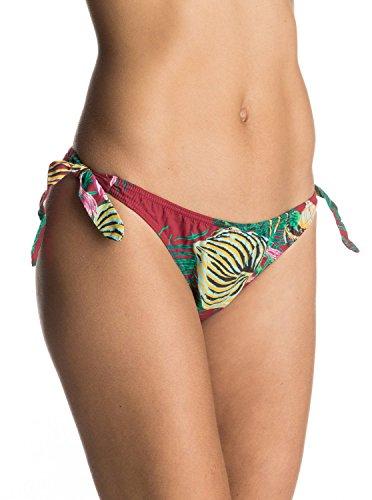 Roxy Traje de Baño para Mujer Mod. ERJX403412-RZM6, Bikini Calzón Nudos Estilo Cuba Talla Mediana Multicolor