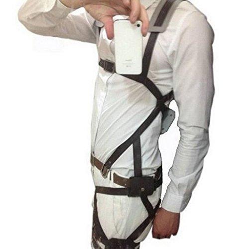 Attack On Titan Shingeki No Kyojin Belts Harness Cosplay Straps or Rock MF-5190