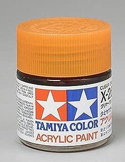 Tamiya America, Inc Acrylic X26 Gloss,Clear Orange, TAM81026