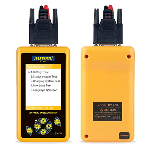 Why Should You Buy AUTOOL BT460 Car Battery Test Analyzer for 12V Car 24V Heavy Trucks Multifunction...