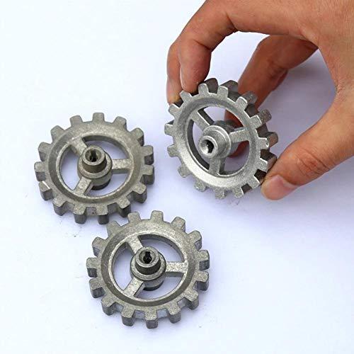 Rotierendes Zahnrad Haltbares Metallzahnrad DIY automatisches rotierendes Grillzubehör