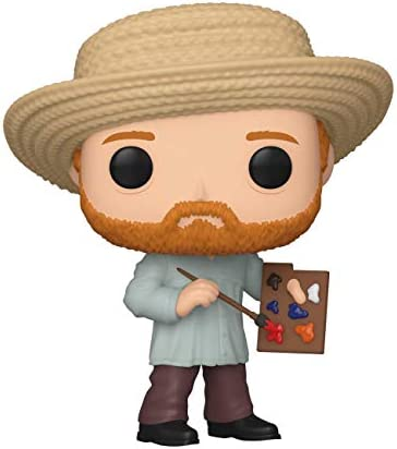 Funko Pop Artists Vincent Van Gogh Multicolor 3 75 inches product image