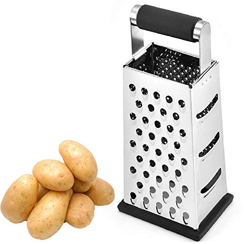 in budget affordable FIAMER box with cheese grater and chopper. Four-sided grater.