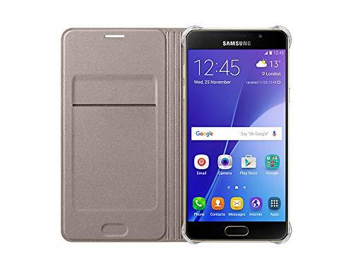 Samsung Flip Wallet Schutzhülle (geeignet für Galaxy A5 (2016)) gold