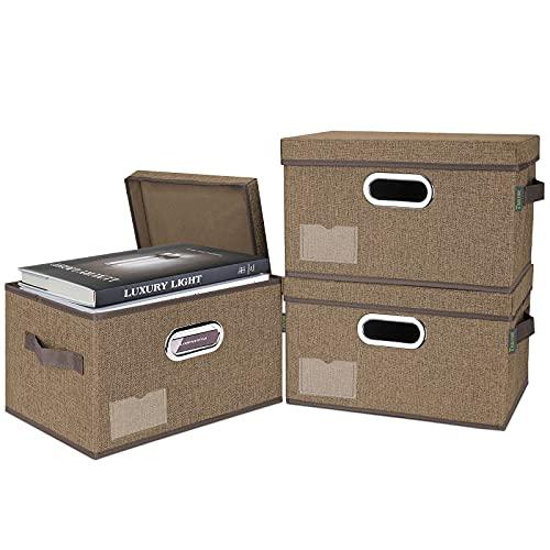 3-Pack BALEINE Storage Bins with Lids Only $17.49 (Retail $24.99)