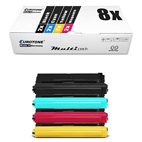 2x XL toner della stampante per Brother TN 2000 BLACK//NERO mfc-7820n 2000 BK