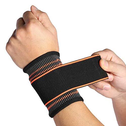 Healifty Handgelenkwickel Gewichtheben Handgelenkstützen Klammern Gewichtheben Krafttraining Fitness Armbänder Sport Handgelenkschutz