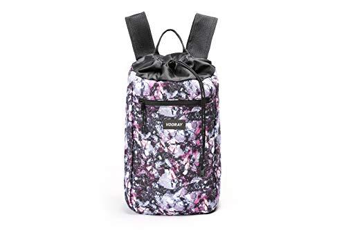 Vooray Stride Cinch - 13L Drawstring Backpack/Sackpack (Metallic Gem)