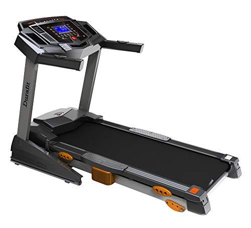 Durafit Heavy 2.5 HP (5.0 HP Peak) DC Motorized Treadmill…