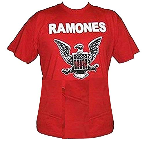 RAMONES - 74 Logo - Camiseta Oficial Hombre
