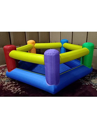 My Bouncer Perfect Little Pentagon Ball Pit Popper - Great for Indoor Use - 90' L x 90' W x 35' H w/ Blower Pump (This is not a Bounce House, min 1,000pcs Jumbo 3' Balls Recommended/Required)