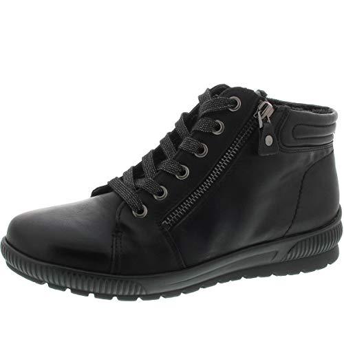 Jenny Damen Stiefelette schwarz by ara von Größe 37 bis 43, Damen Größen:37, Farben:schwarz