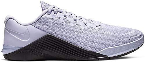 Nike Metcon 5 Women's Training Shoee Lavender Mist/Oil Grey-Pale Ivory 9.0