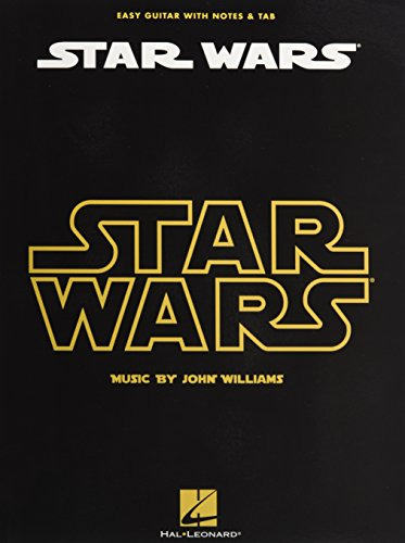 Star Wars: Easy Guitar (With Notes & Tab): Noten, Sammelband, Tabulatur für Gitarre
