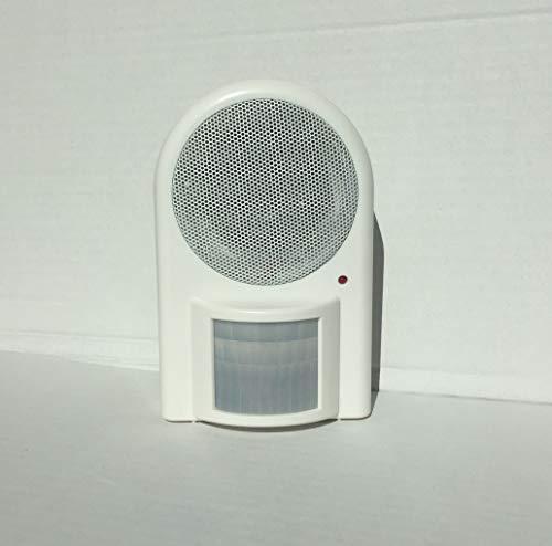 Kopp ALH 169 Infrarot-Alarmmelder 90dB, 90 Grad Erfassungswinkel, batteriebetrieben, 8199.0001.4