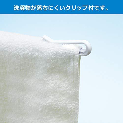 小久保工業所ホワイトパラソルハンガ-30本掛日本製KL-125