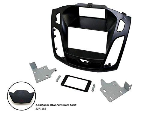 Facade autoradio 2DIN pour Ford Focus ap15 Noir - ADNAuto