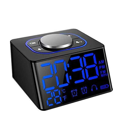 FPRW LED radiografische wekker USB-kabel ondersteuning LCD digitale thermometer timer wekker snooze voor kantoor en huis