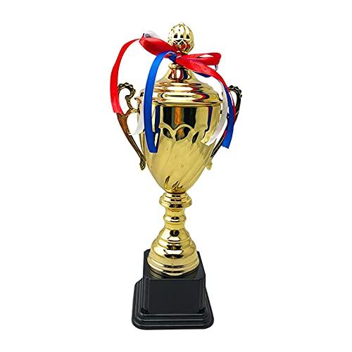 Trofeo de la taza de trofeo de oro grande Trofeo de letras, honor trofeo de metal Empresarial Gran Trofeo Taza personalización Baloncesto Juego de fútbol creativo Trofeos de metal creativo