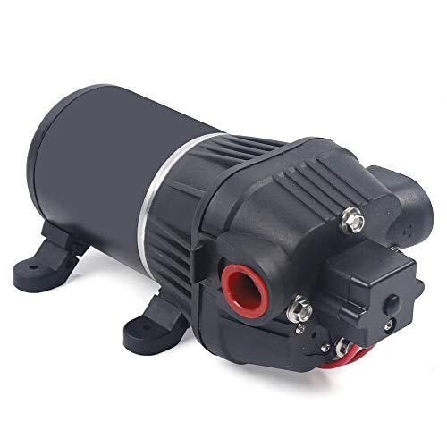 Bomba de agua a presión de 24 V, membrana de alta presión para caravanas, jardín, barco, riego.