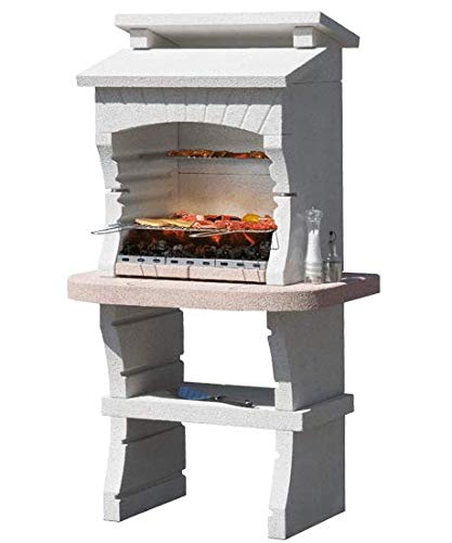 Sunday Nairobi New Masonry Barbecue - Charcoal and Wood