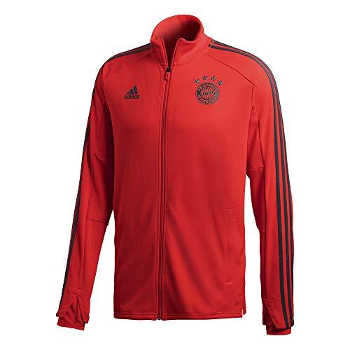 adidas Herren 18/19 FC Bayern Training Jacket Trainingsjacke, red/Utility ivy, L