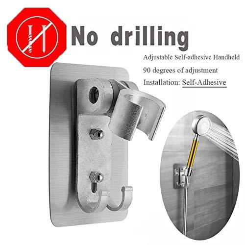HNLY Dusche Hochdruck-Handbrausekopf mit EIN/Aus-Aufhängung wassersparender Duschkopf Badezimmerduschzubehör | Duschkopf