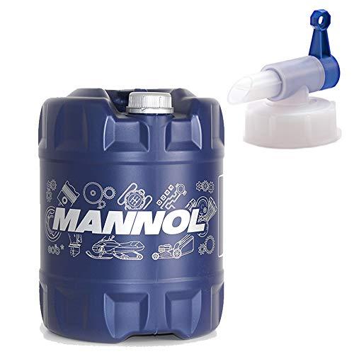 MANNOL 4-Takt Agro SAE 30 4-Takt Rasenmäher Kettensägen, 20 Liter + Ablaufhahn